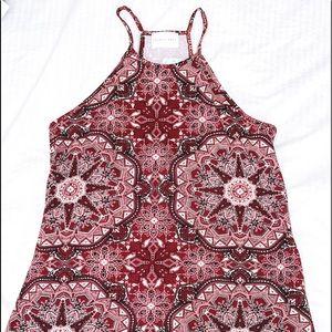 Brand new, knee length, halter summer dress
